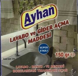 AYHAN - AYHAN LAVABO ACICI 150 GR