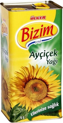 BIZIM - BIZIM AYCICEK 5 LT TNK
