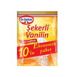 DR OETKER - DR OETKER VANILYA 10 LU 50GR