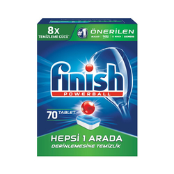 FINISH - FINISH H.B.A TABLET 70