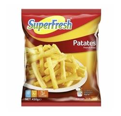 SUPERFRESH - SUPERFRESH PATATES 450 GR
